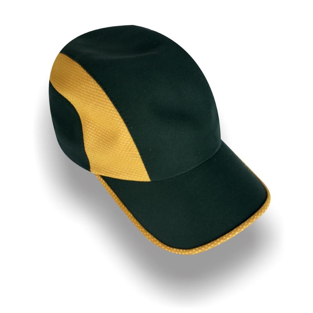 Gorra Diplomatics Chicago de microfibra color negro y amarillo
