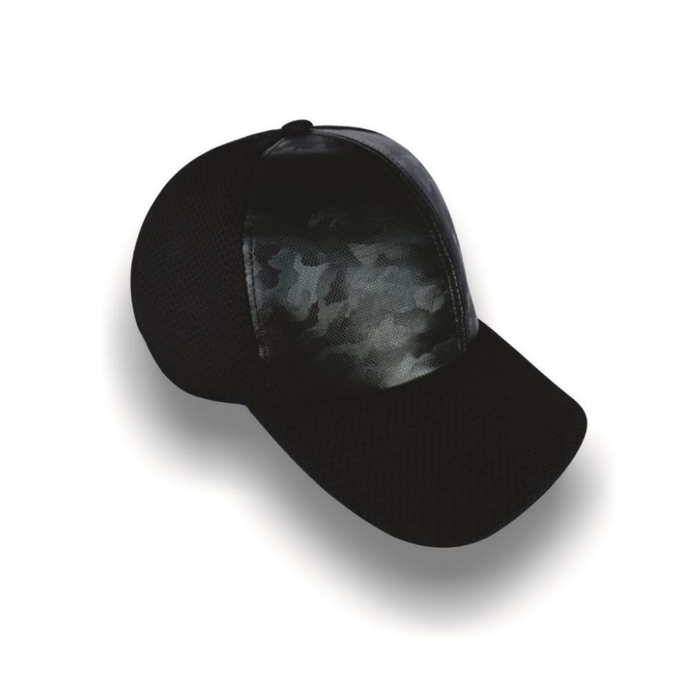 Gorra Diplomatics Toronto alta color negra con aplicacion sintetica en 3D