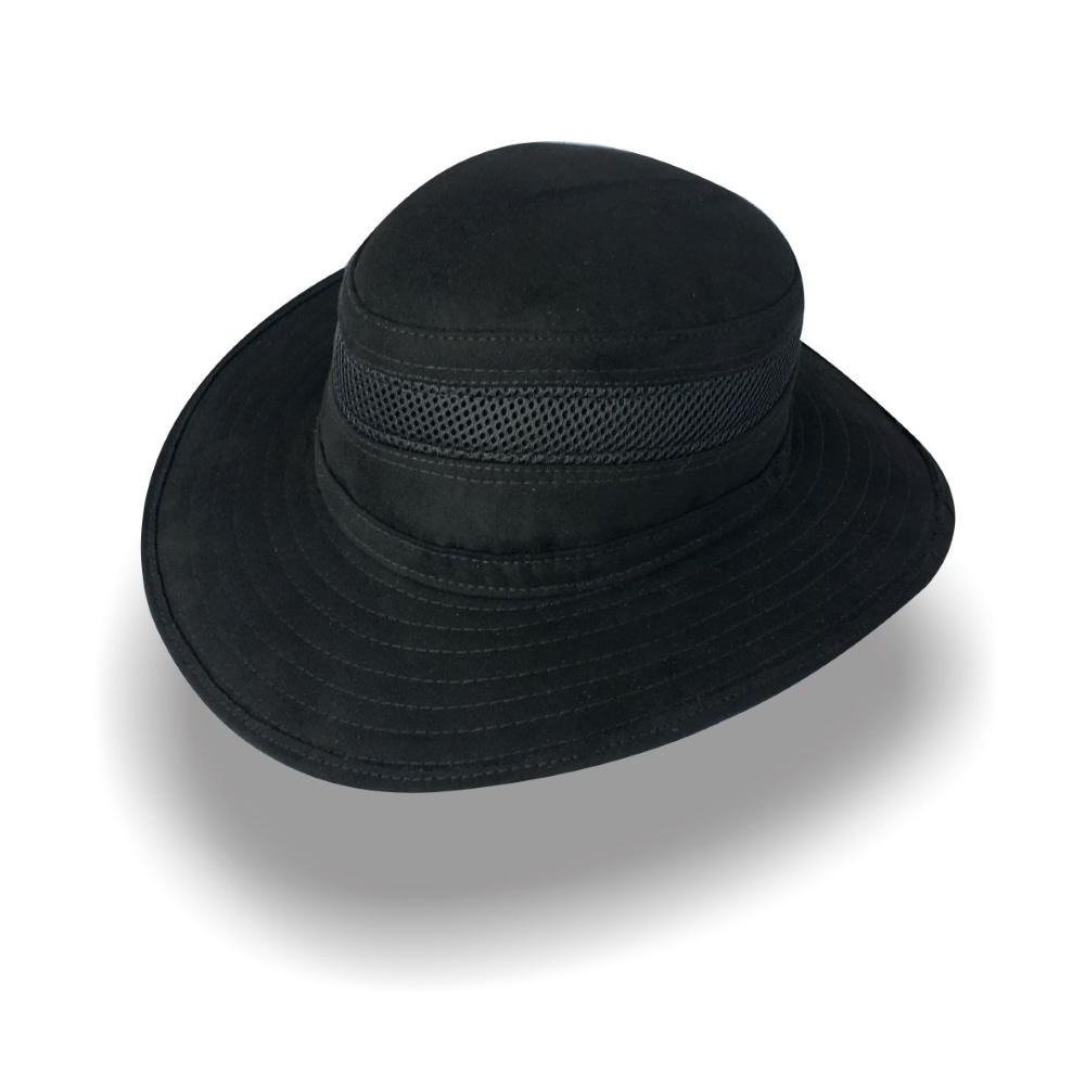 Sombrero Diplomatics Jäger Budapest de tela Nobuck color negro